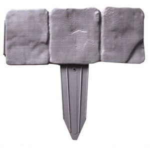 Kerti paliszád - szürke szegéllyel, 2, 5 m kép