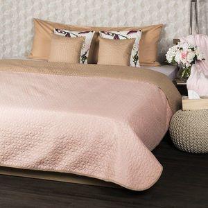 4Home Doubleface ágytakaró, bézs/rózsaszín, 220 x 240 cm, 2x 40 x 40 cm kép