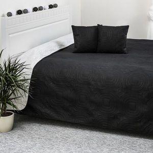 4Home Doubleface fekete/fehér ágytakaró, 220 x 240 cm, 40 x 40 cm kép