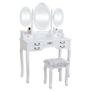 """Fésülködő asztal Anne """"White"""" Henriette kép"""