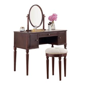"""Fésülködő asztal Charlotte """"Brown"""" Savoy kép"""