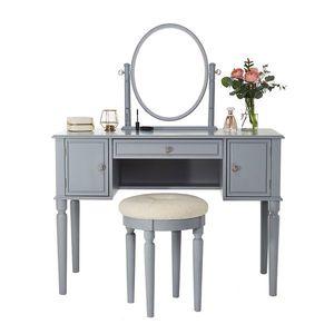 Szürke fésülködő asztal kép