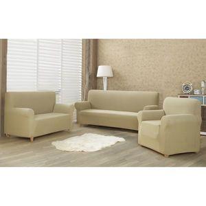4Home Comfort Multielasztikus fotelhuzat bézs színű, 70 - 110 cm, 70 - 110 cm kép