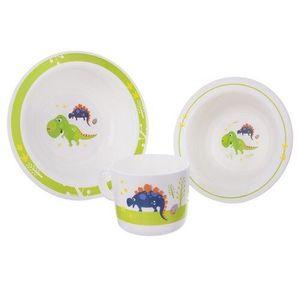 Orion Dino 3 darabos étkezési szett gyerekeknek kép