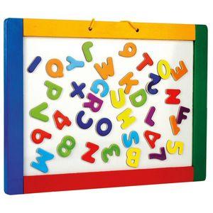 Bino Felakasztható mágneses tábla betűkkel, kép