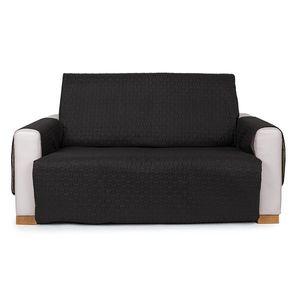 4Home Doubleface dupla fotelhuzat, fekete/szürke, 140 x 220 cm, 140 x 220 cm kép