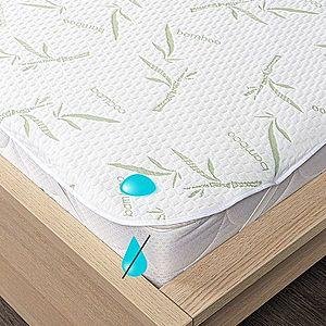 4Home Bamboo gumifüles vízhatlan matracvédő, 90 x 200 cm, 90 x 200 cm kép