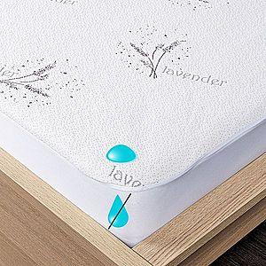 4Home Lavender körgumis vízhatlan matracvédő, 90 x 200 cm + 30 cm, 90 x 200 cm kép