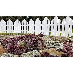 Home Kerti kerítés fehér, 2, 3 m kép