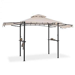 Blumfeldt Steakhouse Wings, pavilon, 244 x 260 x 152 cm, 160 g/m², poliészter, acél, bézs kép