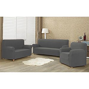 4Home Comfort Multielasztikus fotelhuzat szürke, 70 - 110 cm, 70 - 110 cm kép