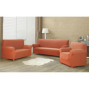 4Home Comfort Multielasztikus kanapéhuzat terracotta, 180 - 220 cm kép