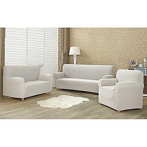 4Home Comfort Multielasztikus fotelhuzat cream, 70 - 110 cm kép