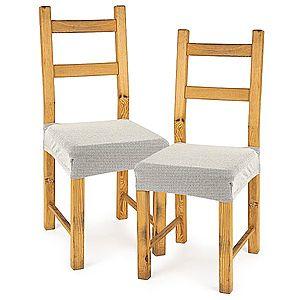 4Home Comfort multielasztikus székhuzat, cream, 40 - 50 cm, 2 db-os szett kép