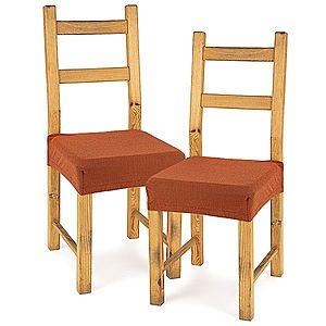 4Home Comfort multielasztikus székhuzat, terracotta, 40 - 50 cm, 2 db-os szett kép