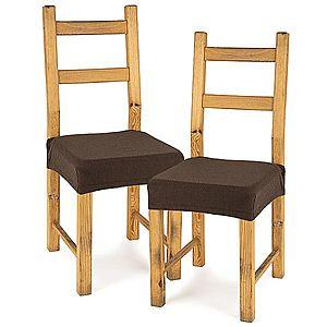 4Home Comfort multielasztikus székhuzat, brown, 40 - 50 cm, 2 db-os szett kép