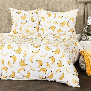 4Home Banán micro ágyneműhuzat, 140 x 200 cm, 70 x 90 cm, 140 x 200 cm, 70 x 90 cm kép