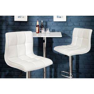 Stílusos bár szék Modern fehér kép