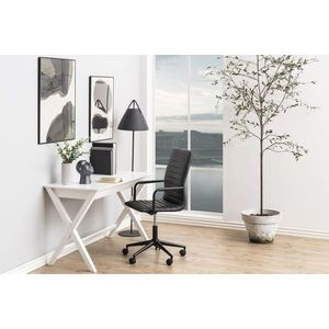 Stílusos íróasztal Naroa 120 cm - fehér kép