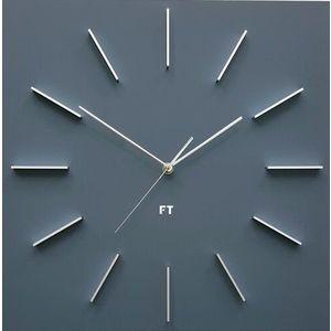 Future Time FT1010GY Square grey Design falióra, 40 cm kép