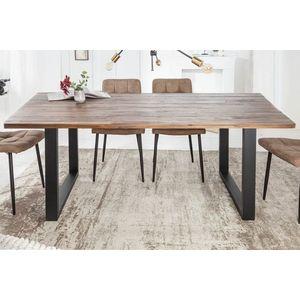 Design étkezőasztal Saxon II 180 cm akác kép