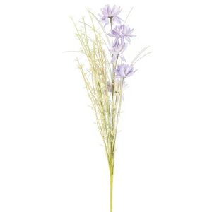 Mű réti virágok, 50 cm, lila kép