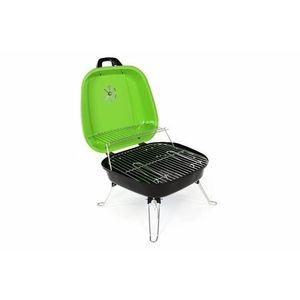 Faszenes hordozható grillsütő Garth BBQ Zöld kép