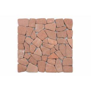 Mozaik burkolat DIVERO® 1m2 - márvány, terrakotta kép