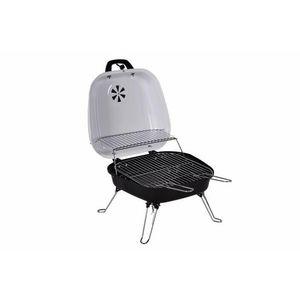 Faszenes hordozható grillsütő Garth BBQ Fehér kép