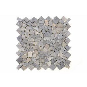 Mozaik burkolat DIVERO® 1m2 - márvány, szürke kép