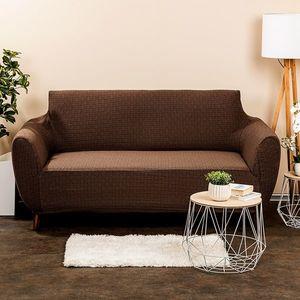 4Home Comfort Plus Multielasztikus ülőgarnitúrahuzat barna, 140 - 180 cm, 140 - 180 cm kép