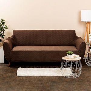 4Home Comfort Plus Multielasztikus ülőgarnitúrahuzat barna, 180 - 220 cm, 180 - 220 cm kép