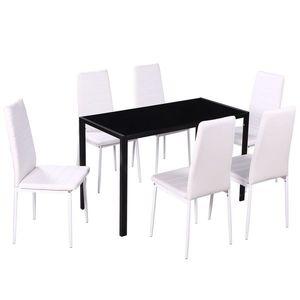 fehér étkező asztal kép
