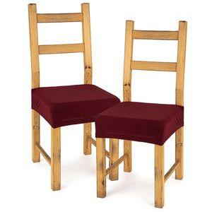 4Home Comfort multielasztikus székhuzat, bordó, 40 - 50 cm, 2 db-os szett kép
