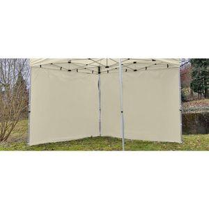 Két oldalfal PROFI kerti sátorhoz 3 x 3 m - pezsgőszín kép