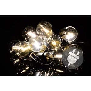 Kerti LED világítás - 5 m meleg fehér kép