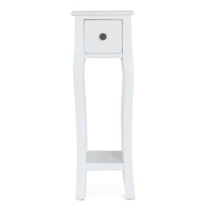 Öltözőasztal/sminkasztal, fehér, WAGNER 3 kép