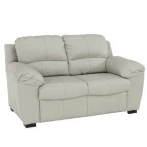 Bőr 2 személyes kanapé, bőr pampas hellgrau M9010, DANILO kép