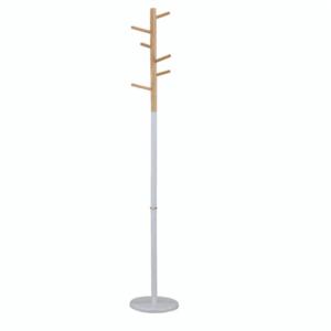 Fogas, fa természetes/fém fehér, HORST kép