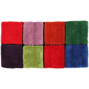 Szőnyeg, piros/zöld/sárga/lila, 80x150, LUDVIG TYP 4 kép