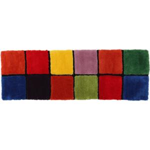 Szőnyeg, piros/zöld/sárga/lila, 70x210, LUDVIG TYP 4 kép