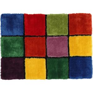 Szőnyeg, piros/zöld/sárga/lila, 100x140, LUDVIG TYP 4 kép