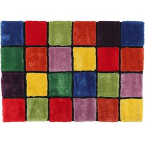 Szőnyeg, piros/zöld/sárga/lila, 120x180, LUDVIG TYP 4 kép