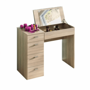 Fésülködő asztal, tölgy sonoma, BELINA kép