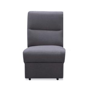 1-személyes kanapé, szürke szövet, csak rendelésre, BORN 1 BB kép