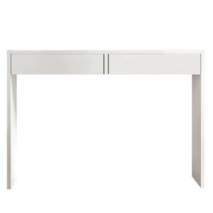 Modern fésülködő asztal, VIOLET, fehér kép