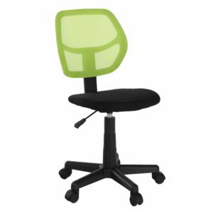 Forgószék, zöld/fekete, MESH kép