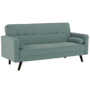 Kinyitható kanapé, zöld-mentol szövet, OTISA kép