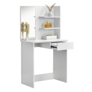 fésülködőasztal, sminkasztal, fehér, BELEZA kép