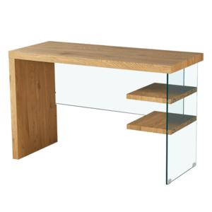 Konzol asztal, tölgy, ENRIK kép